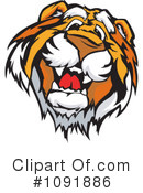 Royalty-Free (RF) Tiger Clipart Illustration #1091886