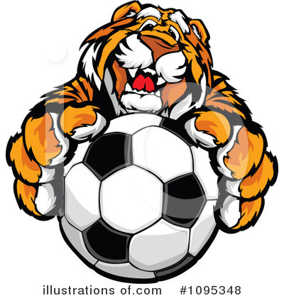 Tiger Clipart #1095348 by Chromaco