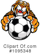Royalty-Free (RF) Tiger Clipart Illustration #1095348