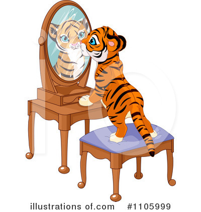 Tiger Clipart #1105999 by Pushkin