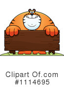 Royalty-Free (RF) Tiger Clipart Illustration #1114695