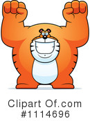 Royalty-Free (RF) Tiger Clipart Illustration #1114696