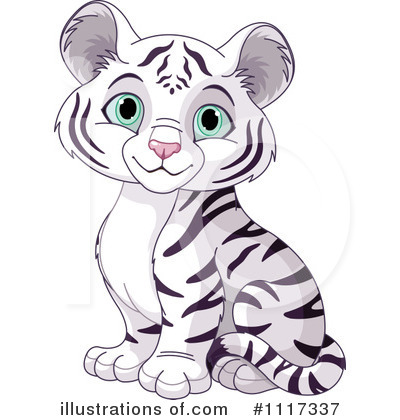 White Tiger Clipart #1117337 by Pushkin