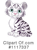 Royalty-Free (RF) tiger Clipart Illustration #1117337