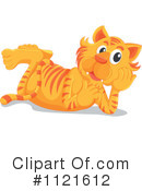 Royalty-Free (RF) Tiger Clipart Illustration #1121612