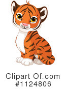 Royalty-Free (RF) tiger Clipart Illustration #1124806