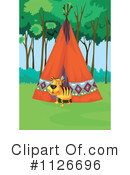 Royalty-Free (RF) Tiger Clipart Illustration #1126696