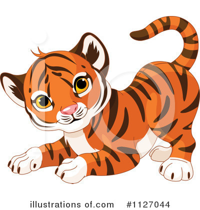 Tiger Clipart #1127044 by Pushkin