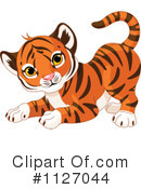 Royalty-Free (RF) Tiger Clipart Illustration #1127044