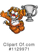 Royalty-Free (RF) Tiger Clipart Illustration #1129971