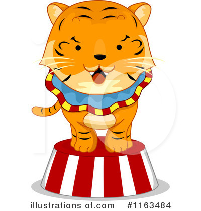 Tiger Clipart #1163484 by BNP Design Studio