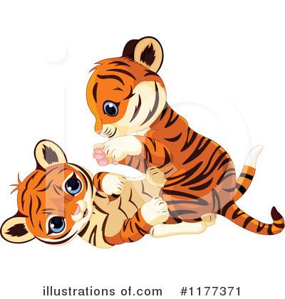 Tiger Clipart #1177371 by Pushkin