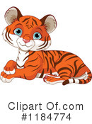Tiger Clipart #1184774 by Pushkin