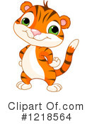 Tiger Clipart #1218564 by Pushkin