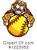 Tiger Clipart #1223052 by Chromaco