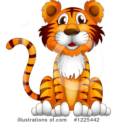 Tiger Clipart #1225442 by Graphics RF