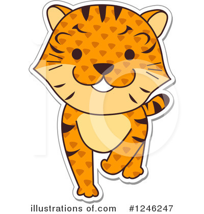 African Animals Clipart #1246247 by BNP Design Studio
