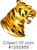 Tiger Clipart #1252855 by BNP Design Studio