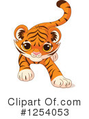 Tiger Clipart #1254053 by Pushkin