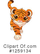 Tiger Clipart #1259134 by Pushkin