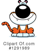 Tiger Clipart #1291989 by Cory Thoman