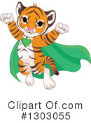 Tiger Clipart #1303055 by Pushkin
