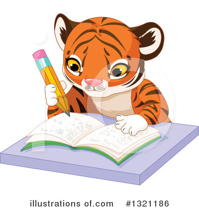 Tiger Clipart #1321186 by Pushkin
