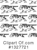 Tiger Clipart #1327721 by Vector Tradition SM