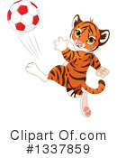 Tiger Clipart #1337859 by Pushkin
