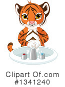 Tiger Clipart #1341240 by Pushkin