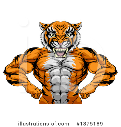 Muscles Clipart #1375189 by AtStockIllustration