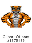 Tiger Clipart #1375189 by AtStockIllustration