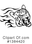 Tiger Clipart #1384420 by dero