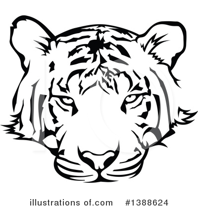 Tiger Clipart #1388624 by dero