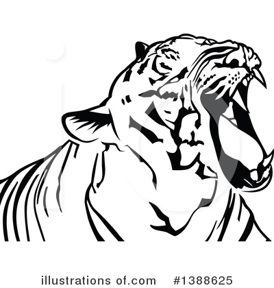Tiger Clipart #1388625 by dero