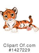 Tiger Clipart #1427229 by Pushkin
