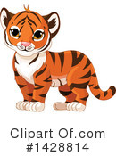 Tiger Clipart #1428814 by Pushkin