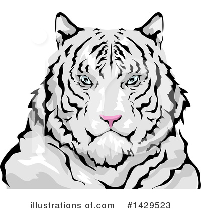 Tiger Clipart #1429523 by BNP Design Studio