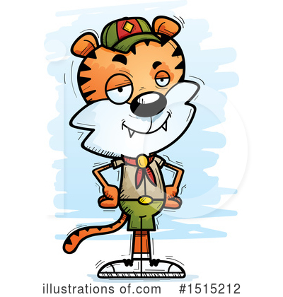 Tiger Clipart #1515212 by Cory Thoman