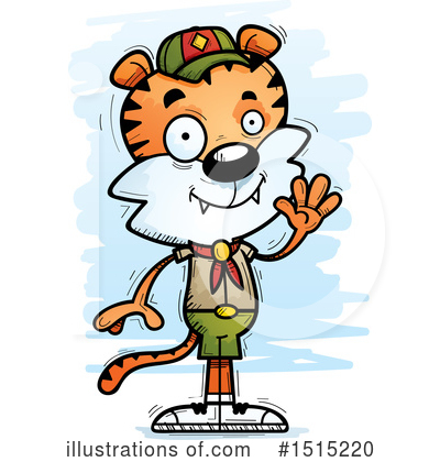Tiger Clipart #1515220 by Cory Thoman