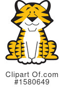 Tiger Clipart #1580649 by Johnny Sajem