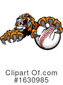 Tiger Clipart #1630985 by Chromaco