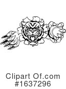 Tiger Clipart #1637296 by AtStockIllustration