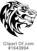 Tiger Clipart #1643894 by Morphart Creations