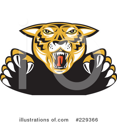 Tiger Clipart #229366 by patrimonio