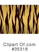 Royalty-Free (RF) Tiger Clipart Illustration #35318