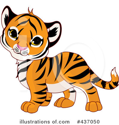 Tiger Clipart #437050 by Pushkin