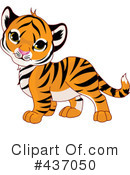 Royalty-Free (RF) tiger Clipart Illustration #437050