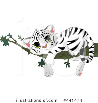 White Tiger Clipart #441474 by Pushkin