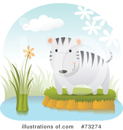 White Tiger Clipart #73274 by Qiun